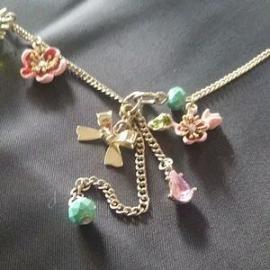 """NWT BETSEY JOHNSON 30"""" COLORFUL NECKLACE"""